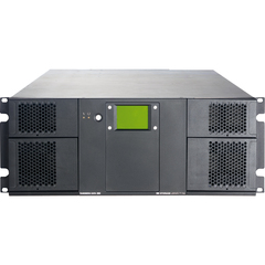 Tandberg Data StorageLibrary T40+ Tape Library - 1 x Drive/24 x Slot - LTO Ultrium 4, LTO Ultrium 5 - 19.20 TB (Native) / 38.40 TB (Compressed) - Network, SCSI