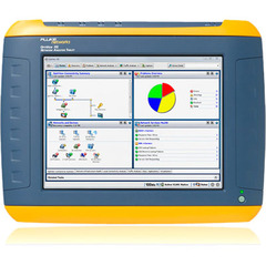 Fluke Networks OptiView XG - Network Analysis Tablet - 3 x USB - 2 x Network (RJ-45) - VGA - Twisted Pair - Wi-Fi