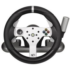 Mad Catz Gaming Steering Wheel - Wireless - Xbox 360, PC