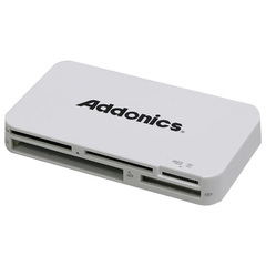 Addonics Mini DigiDrive IV AESDDNU3 15-in-1 USB 3.0 Flash Card Reader/Writer - 15-in-1 - microSD Card, Memory Stick Micro (M2), Secure Digital (SD) Card, Secure