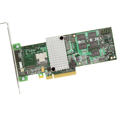 LSI Logic MegaRAID 4-port 9260CV-4i SAS RAID Controller - Serial Attached SCSI (SAS), Serial ATA/600 - PCI Express 2.0 x8 - Plug-in Card - RAID Supported - 0, 1