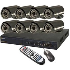 Q-see Video Surveillance System - 8 x Digital Video Recorder, Camera - H.264 Formats - 1 TB Hard Drive