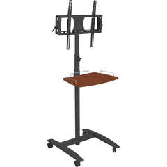 Balt Black Cherry Lumina Flat Panel Stand - Up to 42