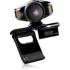 Hercules Webcam - USB 2.0 - 5 Megapixel Interpolated - 1280 x 720 Video - CMOS Sensor - Fixed Focus - Microphone