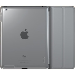 XtremeMac Microshield SC Carrying Case for iPad - Clear - Impact Resistance - Satin