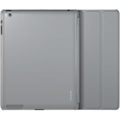 XtremeMac Microshield SC Carrying Case for iPad - Gray - Impact Resistance - Satin