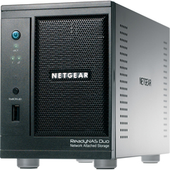 Netgear ReadyNAS Duo RND2000 Network Storage Server - Marvell 1.60 GHz - USB, RJ-45 Network, USB