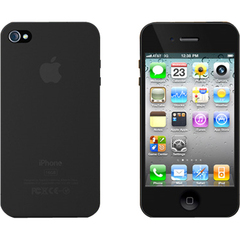 XtremeMac Microshield Style iPhone Case - iPhone - Black Ostrich - Plastic