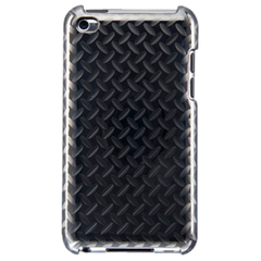 Largus Steel iPod Touch Case - iPod - Silver - Diamond Plate Pattern with Textured Effect - Polycarbonate
