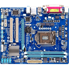 Gigabyte Ultra Durable 4 Classic GA-H61M-S2PV Desktop Motherboard - Intel H61 Express Chipset - Socket H2 LGA-1155 - Micro ATX - 1 x Processor Support - 16 GB D