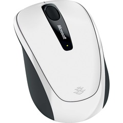 Microsoft Wireless Mobile 3500 Mouse - BlueTrack - Wireless - Radio Frequency - White - USB - 1000 dpi - Scroll Wheel - 3 Button(s) - Symmetrical