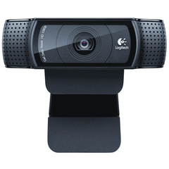 Logitech C920 Webcam - Black - USB 2.0 - 1920 x 1080 Video - Auto-focus - Widescreen - Microphone