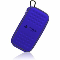Hori Hard Case Carrying Case (Pouch) for Portable Gaming Console - Blue