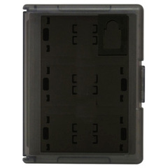 Hori Game Card Case 12 (Black) for PS Vita - Black - 12 Game Cartridge