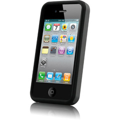 Celltronix Protective Case for iPhone 4 - iPhone - Black - Silicone