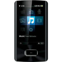 Philips GoGear SA4ARA08KF 8 GB Flash Portable Media Player - Audio Player, Photo Viewer, Video Player, FM Tuner, Voice Recorder - 2.4