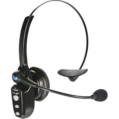 BlueParrott B250-XT+ Headset - Mono - Wireless - Bluetooth - 66 ft - Over-the-head - Monaural - Ear-cup