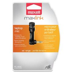 Maxell Microphone - 30 Hz to 18 kHz - Plug-in - Mini-phone