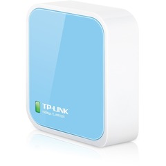 Tp-Link TL-WR702N Wireless Router - IEEE 802.11n - ISM Band - 150 Mbps Wireless Speed - 1 x Broadband Port - USB Desktop