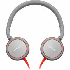 Sony ZX Series Stereo Headphone - Stereo - Gray - Mini-phone - Wired - 40 Ohm - 6 Hz 25 kHz - Gold Plated - Over-the-head - Binaural - Ear-cup - 3.94 ft Cable