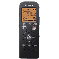 Sony Digital Flash Voice Recorder - 4 GB Flash Memory - LCD - Portable