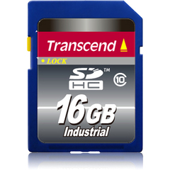Transcend 16 GB Secure Digital High Capacity (SDHC) - 1 Card - Class 10 - 19 MBps Read - 11 MBps Write