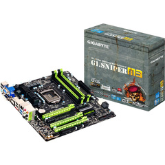 Gigabyte Ultra Durable 4 G1.Sniper M3 Desktop Motherboard - Intel Z77 Express Chipset - Socket H2 LGA-1155 - Micro ATX - 1 x Processor Support - 32 GB DDR3 SDRA