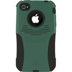 Trident Apple iPhone 4 Aegis Case - iPhone - Green Camo - Silicone, Polycarbonate