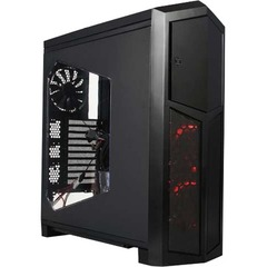 Rosewill THOR V2 Computer Case - Tower - Black - Steel - 14 x Bay - 4 x Fan