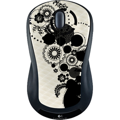Logitech Wireless Mouse M310 - Laser - Wireless - Radio Frequency - Ink Gears - USB - Scroll Wheel - Symmetrical