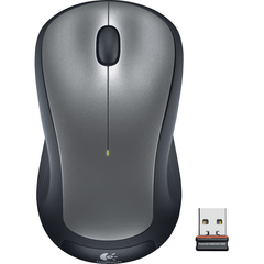 Logitech Wireless Mouse M310 - Optical - Wireless - Radio Frequency - Black - USB - 1000 dpi - Scroll Wheel - 3 Button(s) - Symmetrical