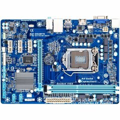 Gigabyte Ultra Durable 4 Classic GA-H61M-DS2H Desktop Motherboard - Intel H61 Express Chipset - Socket H2 LGA-1155 - Micro ATX - 1 x Processor Support - 16 GB D