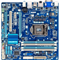 Gigabyte Ultra Durable 4 Classic GA-B75M-D3P Desktop Motherboard - Intel B75 Express Chipset - Socket H2 LGA-1155 - Micro ATX - 1 x Processor Support - 32 GB DD