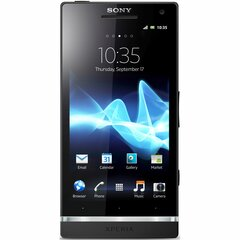 Sony Mobile Xperia S Smartphone - Wi-Fi - 3G - Bar - Black - SIM-free - Android 2.3 Gingerbread - 4.3