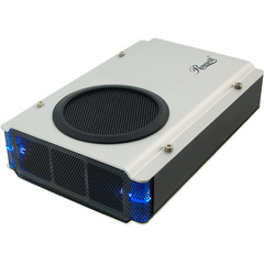 Rosewill RX-358 V2-SLV Drive Enclosure - External - Silver - 1 x Total Bay - 1 x 3.5