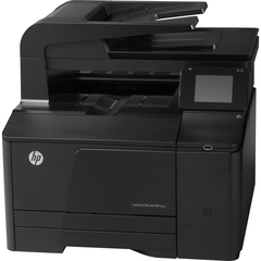 HP LaserJet Pro M276NW Laser Multifunction Printer - Color - Plain Paper Print - Desktop - Printer, Copier, Scanner, Fax - 14 ppm Mono/14 ppm Color Print - 14 p