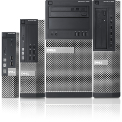 Dell OptiPlex Desktop Computer - Intel Core i5 i5-2400 3.10 GHz - Mini-tower - 4 GB RAM - 250 GB HDD - DVD-Writer - Genuine Windows 7 Professional - DisplayPort