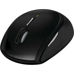Microsoft Wireless Mouse 5000 - BlueTrack - Wireless - Radio Frequency - USB - 1000 dpi - Tilt Wheel - 5 Button(s) - Symmetrical