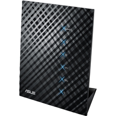 Asus RT-N65U Wireless Router - IEEE 802.11n - 3 x Antenna - ISM Band - UNII Band - 750 Mbps Wireless Speed - 4 x Network Port - 1 x Broadband Port - USB Desktop
