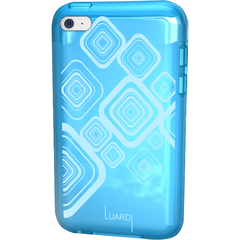 Luardi TPU Pattern Case iPod Touch Blue - iPod - Blue - Thermoplastic