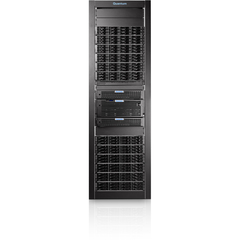 Quantum DXi8500 NAS Array - 24 x HDD Installed - 45 TB Installed HDD Capacity - RAID Supported - 24 x Total Bays - 10 Gigabit Ethernet - Network (RJ-45) - Fibre Channel - 9U Rack-mountable