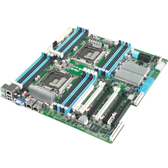 Asus Z9PE-D16/2L Server Motherboard - Intel C602-A Chipset - Socket R LGA-2011 - SSI EEB - 2 x Processor Support - 512 GB DDR3 SDRAM Maximum RAM - Serial ATA/30