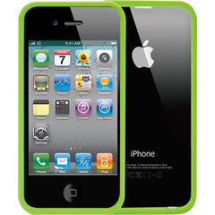 Luardi Crystal Frame case for iphone 4/4S Green - iPhone - Green - Polycarbonate