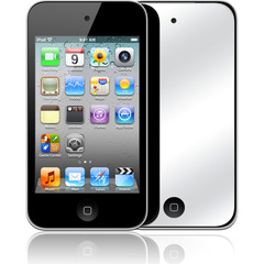 Luardi Mirror Screen protector for iPod 4S
