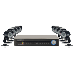 Lorex ECO2 8 Channel Wired DVR Security Camera System - 8 x Digital Video Recorder, Camera - H.264 Formats - 500 GB Hard Drive