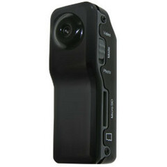 Night Owl CS-MINI-DVR-4GB Digital Camcorder - CMOS - SD - Black - AVI - SD - 4 GB microSD Card Included - Microphone - USB - microSD Card - Memory Card