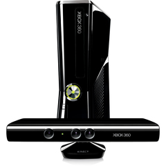 Microsoft Xbox 360 4GB Kinect Value Bundle - With Game Pad - Wireless - Black - ATI Xenos - 1920 x 1080 - 16:9 - 1080p - Dolby Digital - DVD-Reader - 4 GB Flash