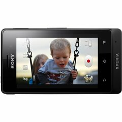Sony Mobile Xperia advance Smartphone - Wi-Fi - 3G - Bar - Black - SIM-free - Android 2.3 Gingerbread - 3.5