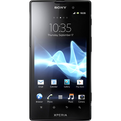 Sony Mobile XPERIA ion Smartphone - Wi-Fi - 4G - Bar - Black - SIM-free - Android 2.3 Gingerbread - 4.6