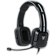 Tritton Kunai Stereo Headset For Playstation 3 and PS Vita - Stereo - Black - Mini-phone, RCA - Wired - 16 Ohm - 25 Hz - 20 kHz - Over-the-head - Binaural - Ear